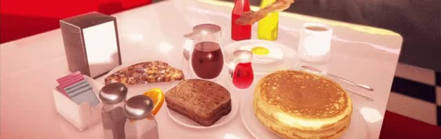 Watch and share Pancakes GIFs and Diner GIFs by Tj Hughes on Gfycat