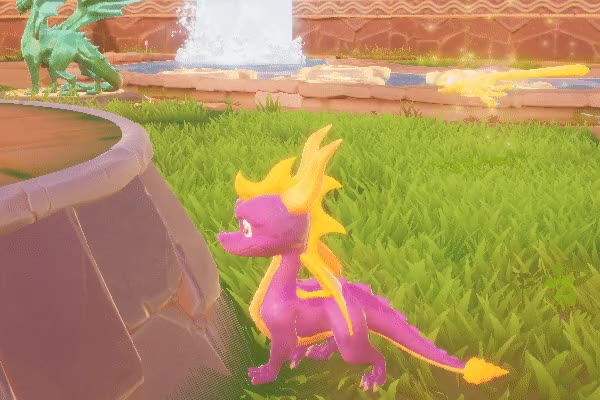 Watch and share Spyro Reignited Trilogy - Wall Walking GIFs by OhiraKyou on Gfycat