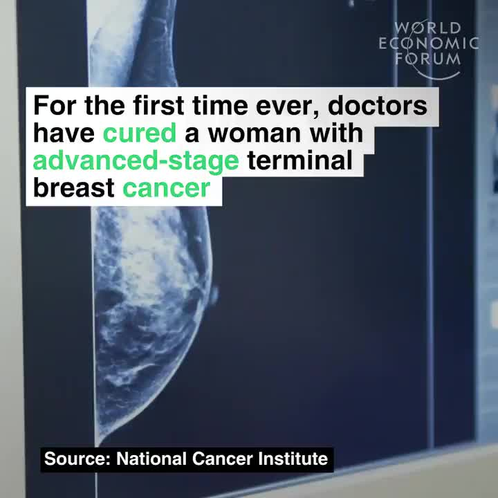 For the first time ever, doctors have cured a woman with advanced-stage terminal breast cancer GIFs