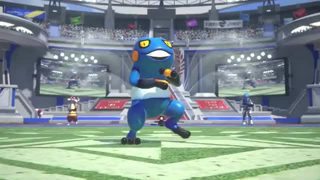 Watch and share Pokkén Tournament GIFs and Croagunk GIFs by donnasoph on Gfycat