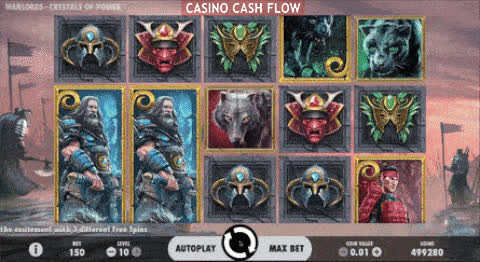 warlords crystals of power slot big win gif by casino cash flow