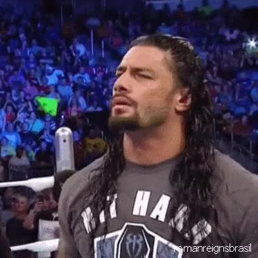 Watch and share Roman Reigns! GIFs on Gfycat