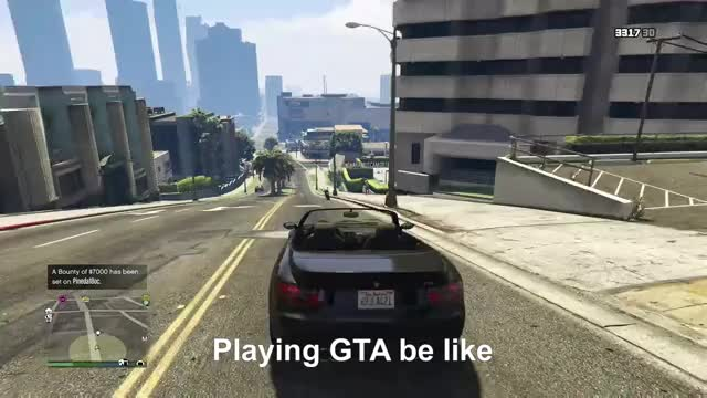 Watch GTA logic be like GIF by Gamer DVR (@xboxdvr) on Gfycat. Discover more GrandTheftAutoV, deadlysoldier00, xbox, xbox dvr, xbox one GIFs on Gfycat