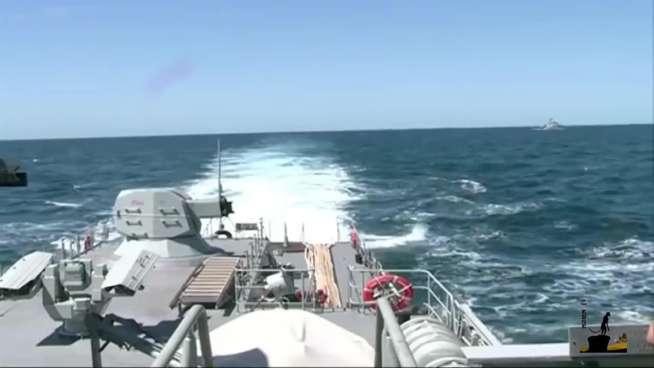 WarshipGfys, ciws, duet, AK-630M Engages test targets. GIFs