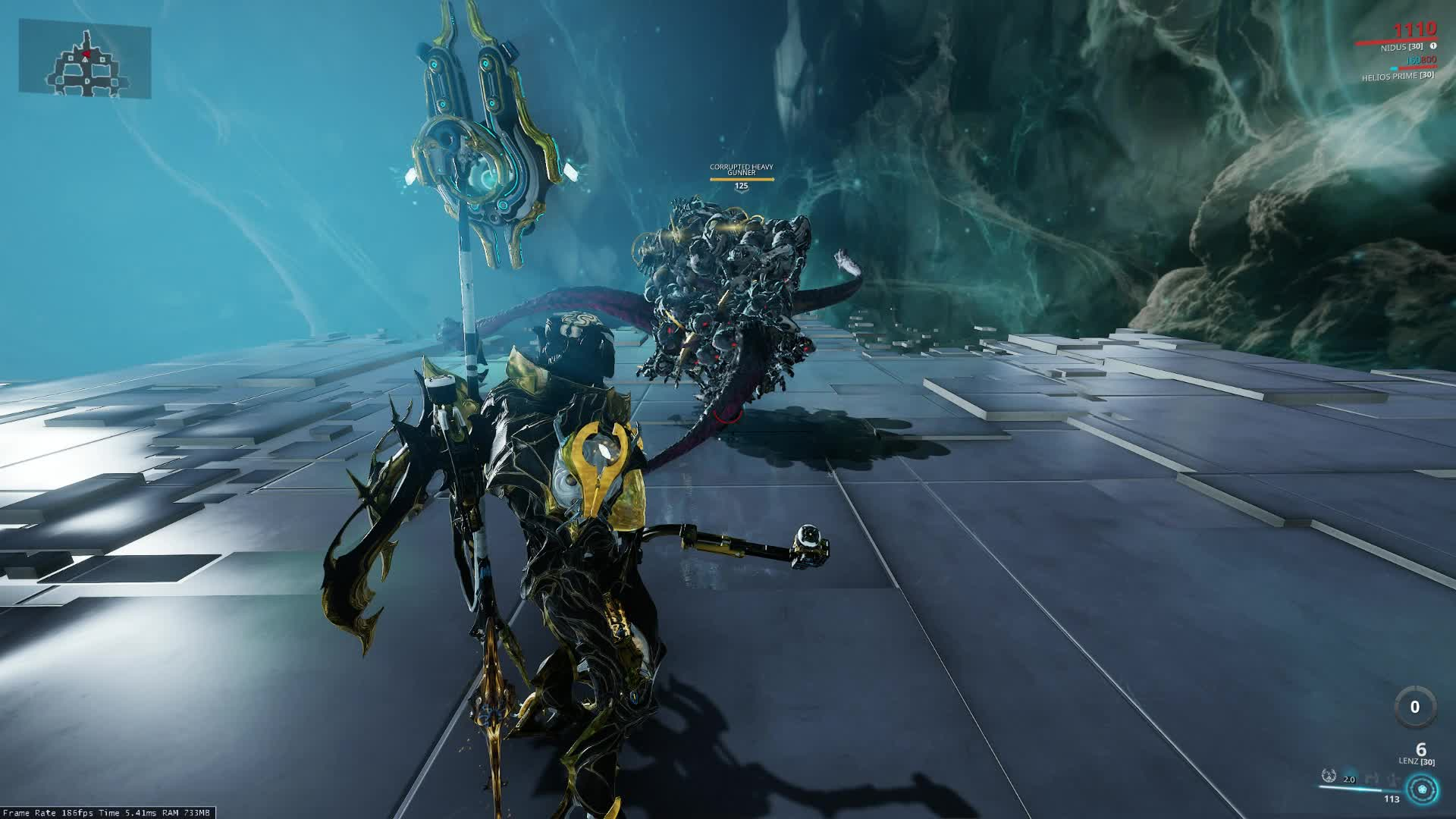 Warframe, Nidus With Teeming Virulence Makes Constant Red Crits GIFs