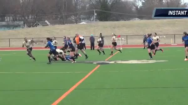 "Watch and share Tianna ""KO"" Camous Rugby Hits - Lindenwood University Women's Rugby (reddit) GIFs on Gfycat"