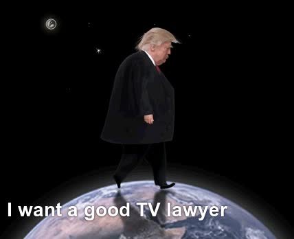 Muckmaker, Trump pouts about not having a good TV lawyer GIFs