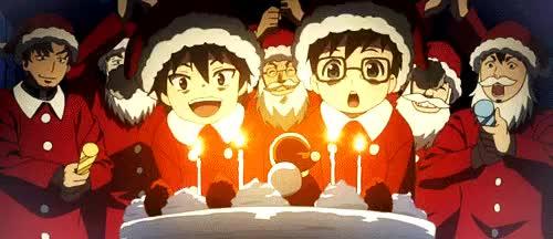 Watch and share Anime Christmas GIFs and Merry Christmas GIFs on Gfycat