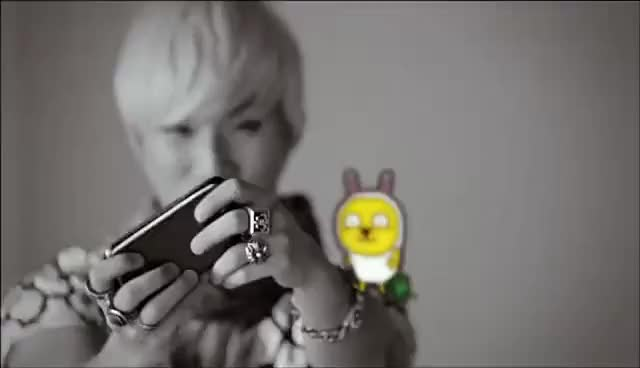 Watch Daesung playing on phone GIF on Gfycat. Discover more BIGBANG, Daesung, KPOP, KaoKao Talk GIFs on Gfycat