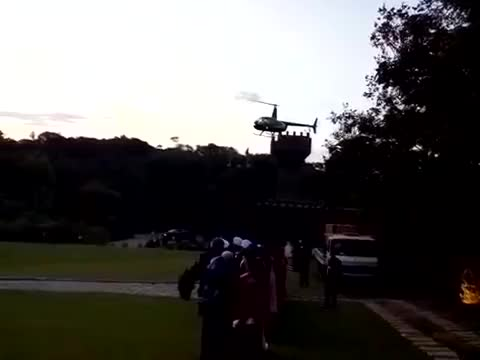 Watch and share Helicopter Crashes Right In Front Of Wedding Ceremony GIFs by timmy6169 on Gfycat