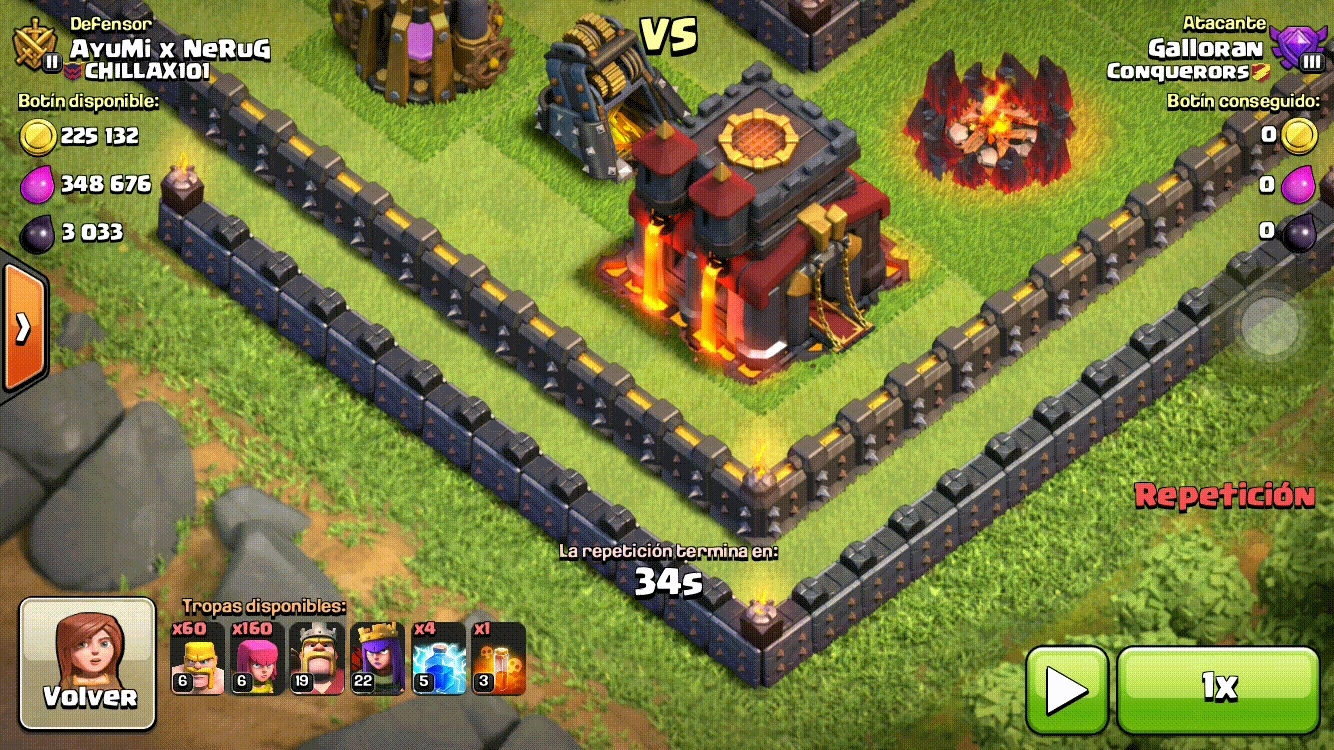clashofclans, Can't the Queen Reach the Town Hall? GIFs