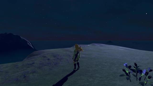 CEMU Zelda: BOTW Timelapse - Landscapes 4k60fps GIF | Find, Make