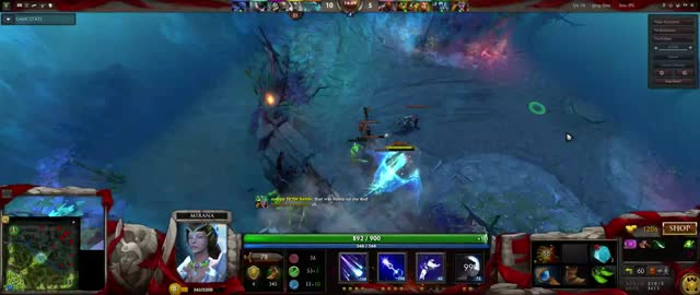 Watch and share Mirana GIFs and Dota2 GIFs on Gfycat