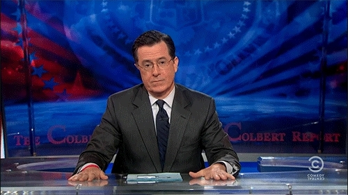 accomplishment, celebrate, congrats, congratulations, good job, great job, high five, party, props, stephen colbert, way to go, yay, congrats GIFs