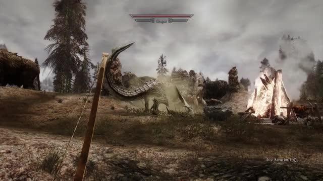 Watch and share Gameplay GIFs and Skyrim GIFs by sethrogenkilledmydog on Gfycat