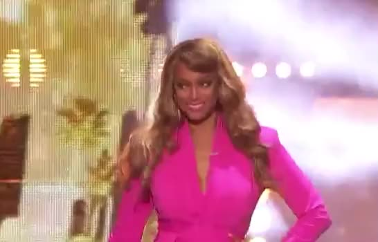 Watch this trending GIF by GIF Queen (@ioanna) on Gfycat. Discover more agt, america's, banks, confidence, confident, dress, entrance, flirt, got, hot, hottie, pink, sexy, smile, talent, tyra, tyra banks, wink GIFs on Gfycat