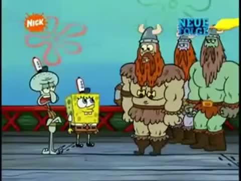 Spongebob Wikinger Olafolaf Gif Find Make Share Gfycat Gifs