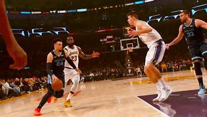 122318, LeBron James — Los Angeles Lakers GIFs