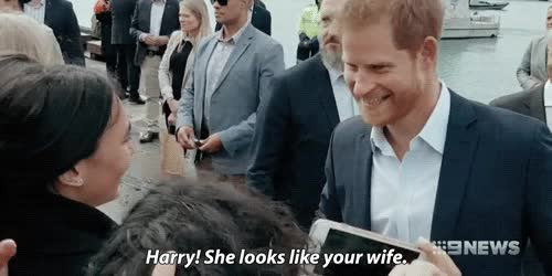 Watch harry&meghan GIF on Gfycat. Discover more related GIFs on Gfycat