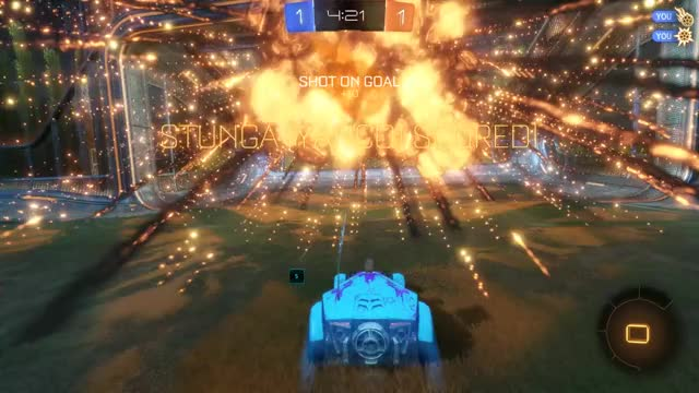 Watch Check out my video! Rocket League | Captured by Overwolf GIF by Overwolf (@overwolf) on Gfycat. Discover more Gaming, Goal, Overwolf, Rocket League GIFs on Gfycat