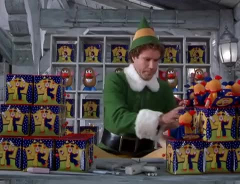 Watch and share Elf GIFs on Gfycat