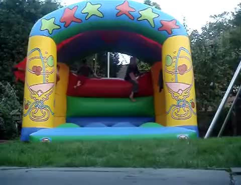 Watch and share Bouncy Castle GIFs on Gfycat