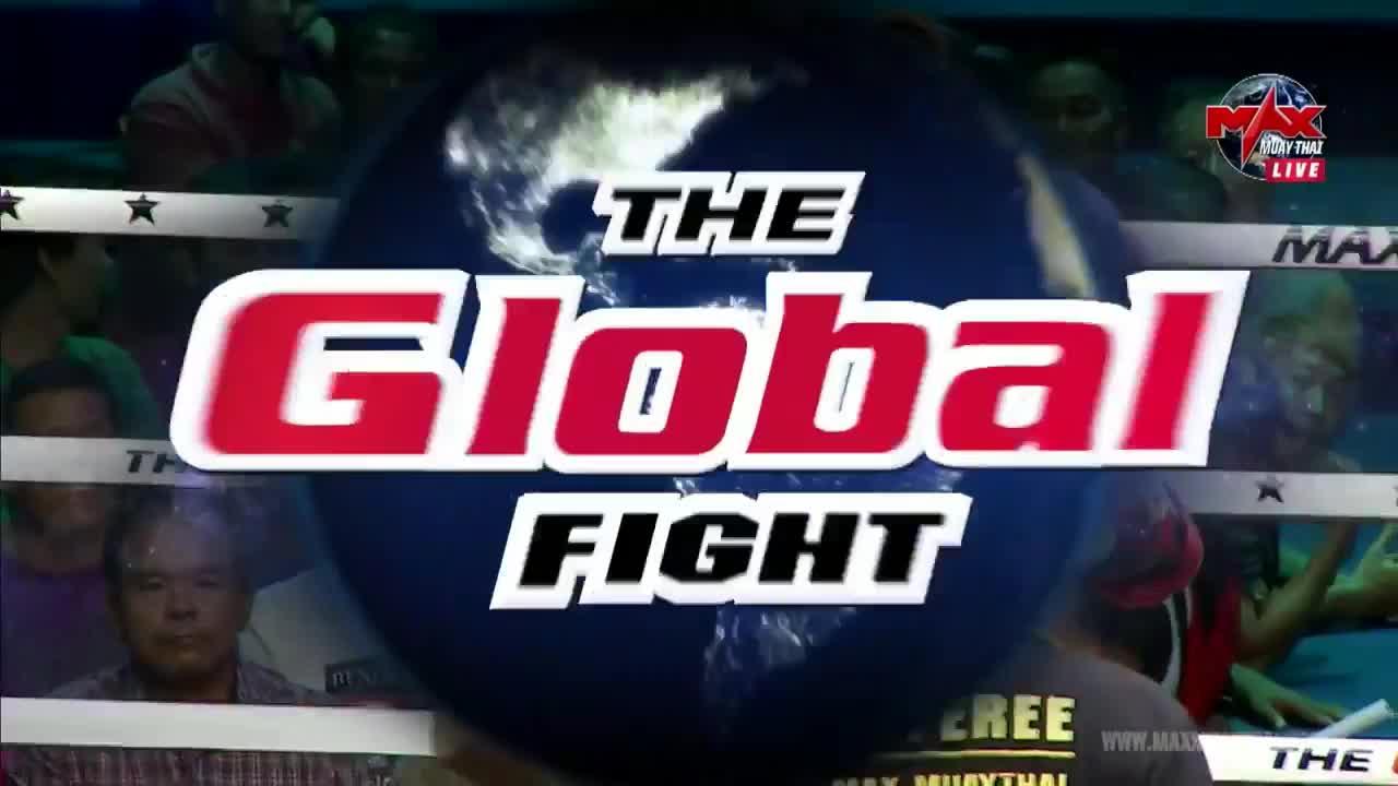 KO, elbow, fighting, fights, knockout, maxmuaythai, mma, muaythai, Singdam KO's Krabenpetch GIFs