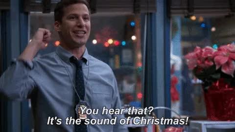 Watch this christmas GIF by GIF Reactions (@visualecho) on Gfycat. Discover more Christmas, Merry Christmas, andy samberg, xmas GIFs on Gfycat