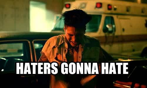 Watch and share Haters Gonna Hate Dalmatian Gif GIFs on Gfycat