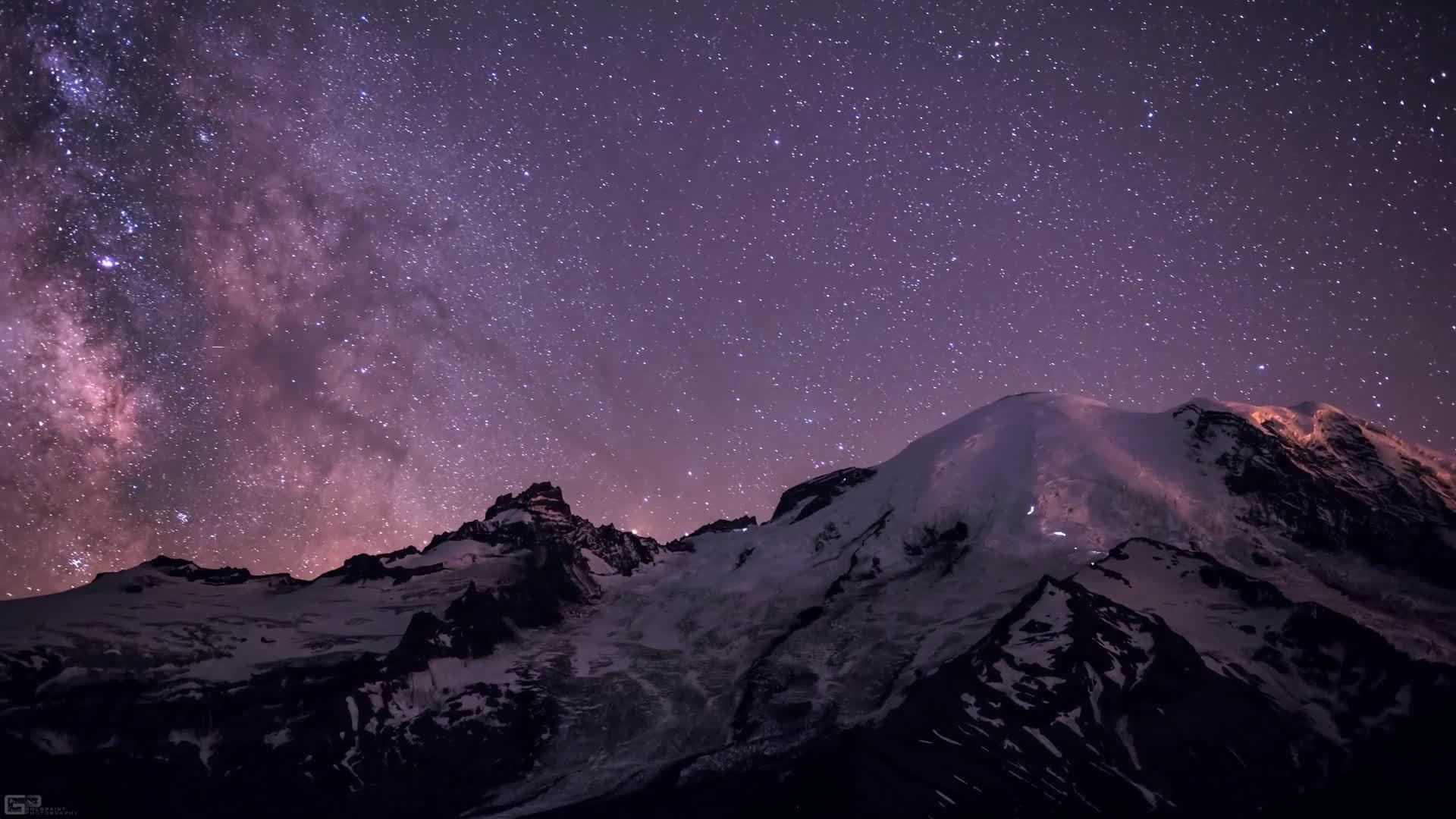 earthgifs, woahdude, Climbers on Mount Rainier (reddit) GIFs