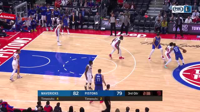 Watch and share Dallas Mavericks GIFs and Detroit Pistons GIFs by dirk41 on Gfycat