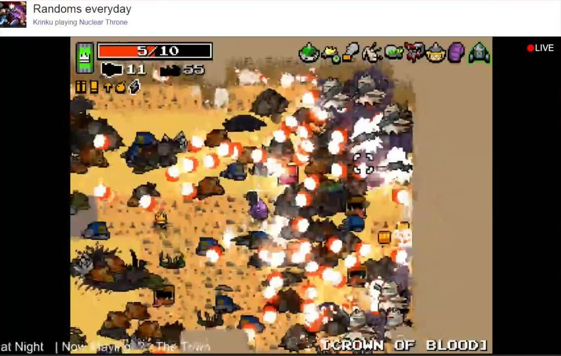 nuclearthrone, Krinku's inevitable demise on loop 11 (reddit) GIFs