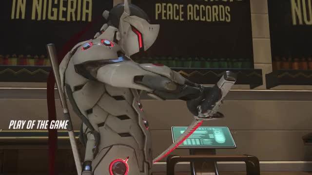 Watch and share Overwatch GIFs and Genji GIFs on Gfycat