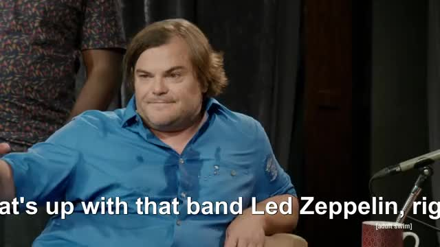Watch The Eric Andre Show - Jack Black Interview (S04E10) GIF on Gfycat. Discover more eric andre, jack black, led zeppelin, the eric andre show GIFs on Gfycat