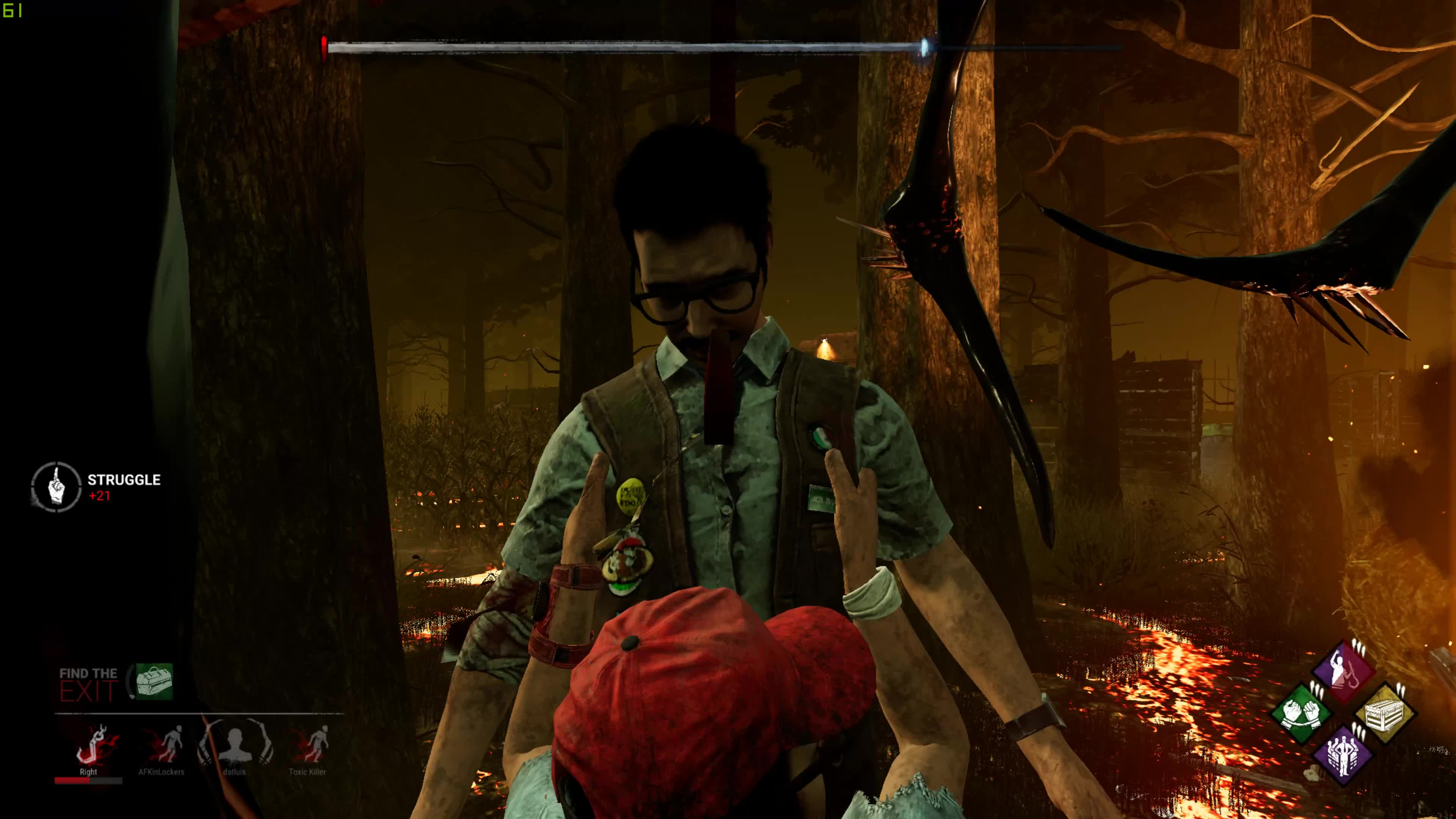 Dead by Daylight - The power of the rando dwight squad GIFs