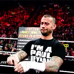 Watch and share Best In The World GIFs and Cm Punk GIFs on Gfycat