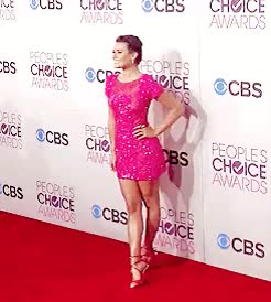 Watch and share Lea Michele GIFs and Event GIFs on Gfycat