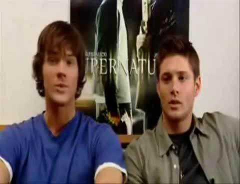 Jared Padalecki, Jensen Ackles, Supernatural, Jared Says Doo-Doo GIFs