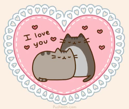 Watch this i love you GIF by GIF Queen (@ioanna) on Gfycat. Discover more I love you, animation, asleep, cat, cats, couple, heart, hearts, i, kitten, love, pet, pusheen, sleep, together, u, ya, you GIFs on Gfycat