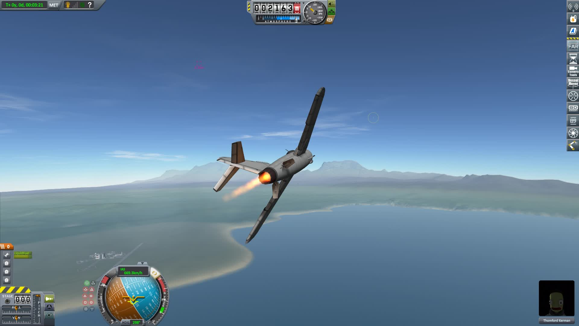 KSP, Kerbal Space Program, Wing Breaker GIFs