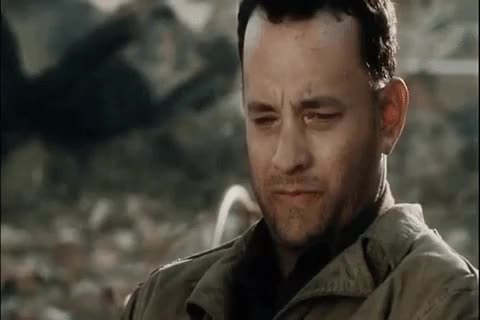 Watch this movies GIF by Mike (@miketv47) on Gfycat. Discover more captain, for, hanks, just, me, memories, memory, miller, movies, saving private ryan, thinking, thought, thoughts, tom hanks GIFs on Gfycat