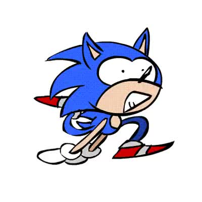 Watch and share Sonic Corre GIFs on Gfycat