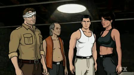 Watch and share Archer Fist Bump GIFs by Reactions on Gfycat