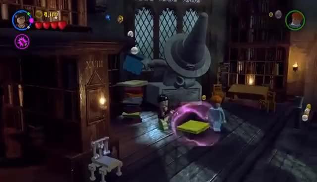 Lego Harry Potter Years 1-4 #9: Invisibility Cloak GIF | Gfycat