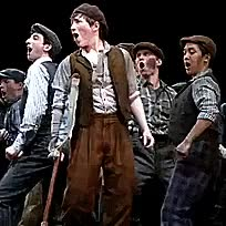 Watch and share Andy Richardson GIFs and Newsies On Tour GIFs on Gfycat