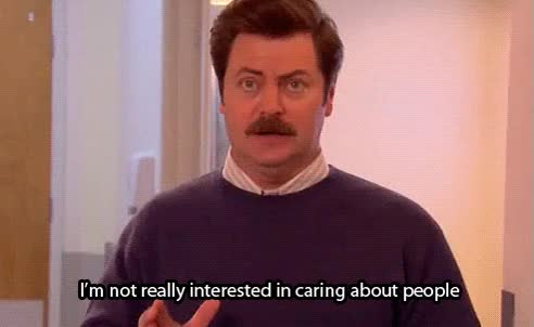 Watch this parks and rec GIF on Gfycat. Discover more andy dwyer, ann perkins, april ludgate, ben wyatt, chris traeger, donna meagle, leslie knope, nick offerman, parks and rec, parks and recreation, ron swanson, tom haverford GIFs on Gfycat