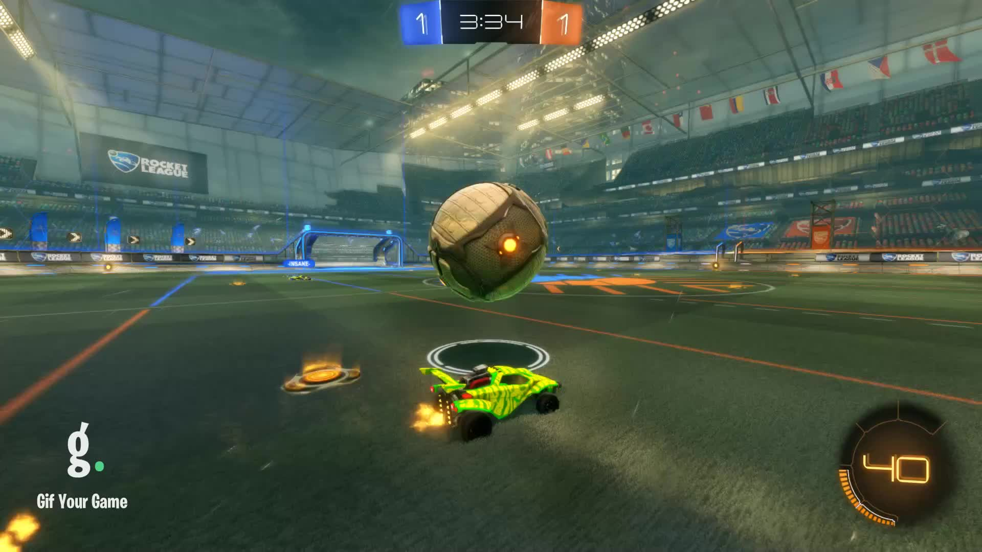 Gif Your Game, GifYourGame, Goal, Manuel Neuer, Rocket League, RocketLeague, Goal 3: Manuel Neuer GIFs
