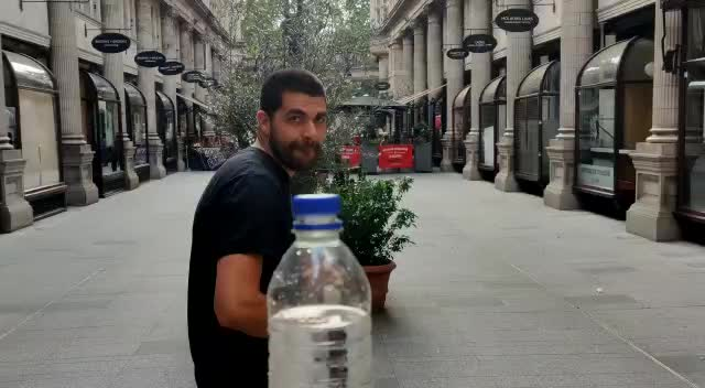Watch and share Bottle Cap Challenge Super Spin! GIFs by Sabba Keynejad on Gfycat
