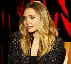 Watch and share Elizabeth Olsen GIFs on Gfycat