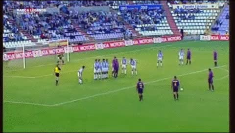 Watch and share Josep Guardiola. Valladolid - Barcelona. 2000-01 GIFs by fatalali on Gfycat